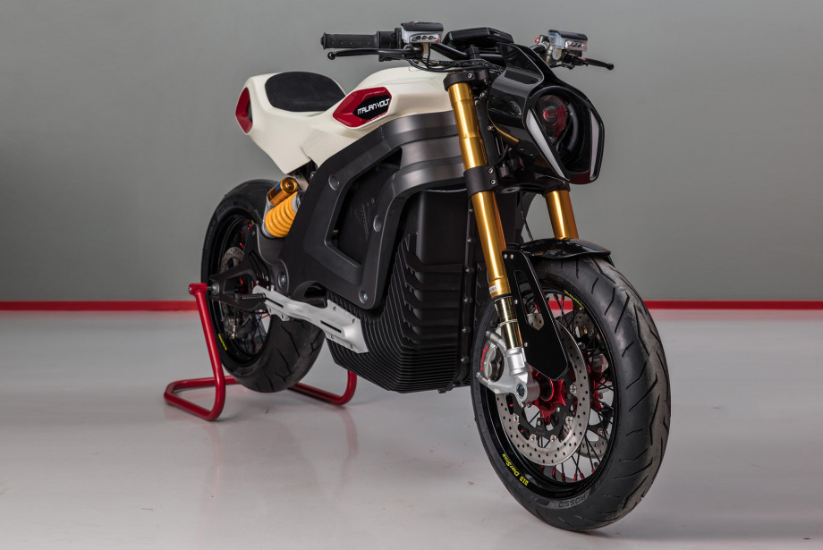 Italian Volt Elektrikli Motosiklet