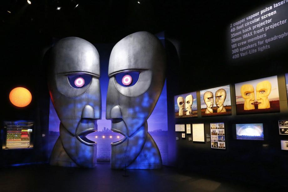 Pink Floyd'un Ellinci Yıl Sergisi Londra'da