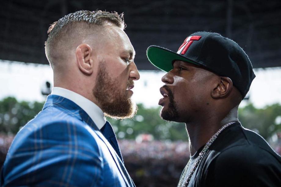 Asrın karşılaşması: Floyd Mayweather ve Conor McGregor karşı karşıya