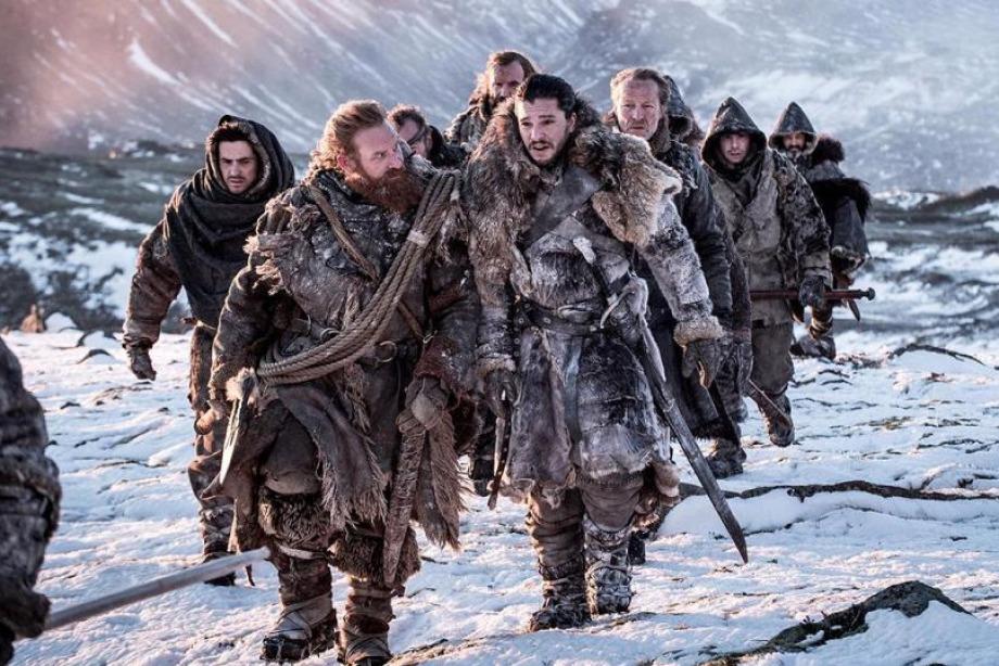 Game of Thrones'un donmuş göl sahnesi nasıl çekildi?