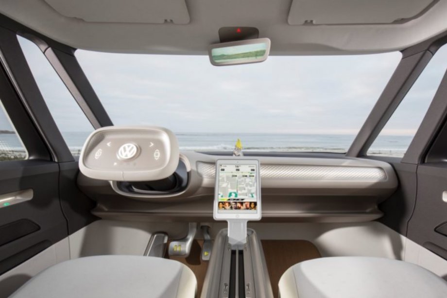 Geçmişten esinle: Volkswagen elektrikli mikrobüs