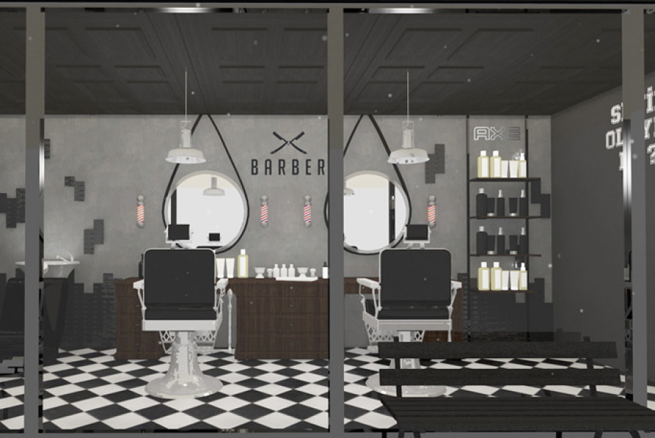 GQ Barbershop by Axe