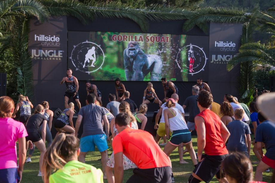 Vahşi doğadan ilhamla yepyeni bir spor akımı: Jungle Challenge