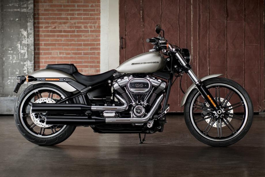 Harley Davidson'un yeni canavarı: Breakout 114