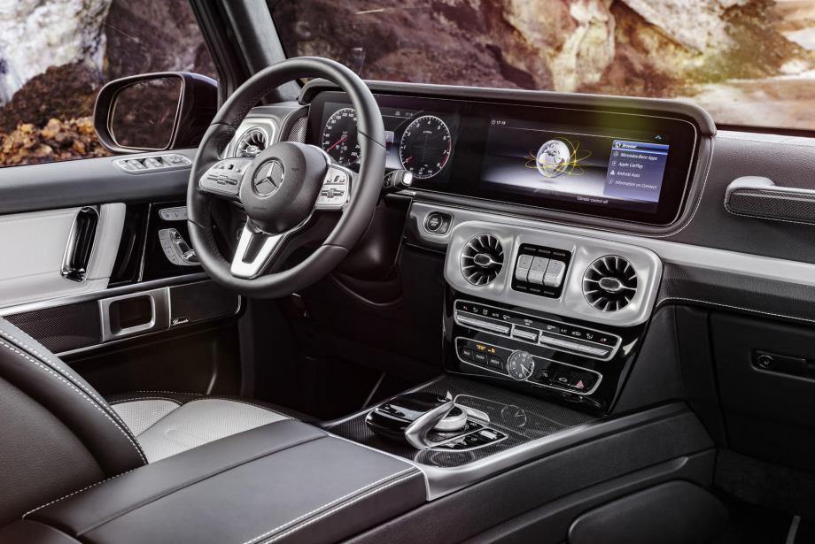 4x4'lerin efsane modeli Mercedes G serisi