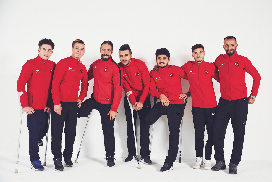 Men of the Year Yılın Ekibi: Ampute Futbol Milli Takımı