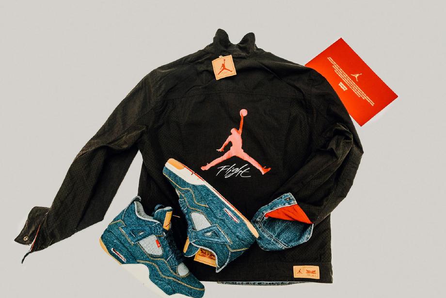 Air Jordan ve Levi's güçlerini birleştirdi
