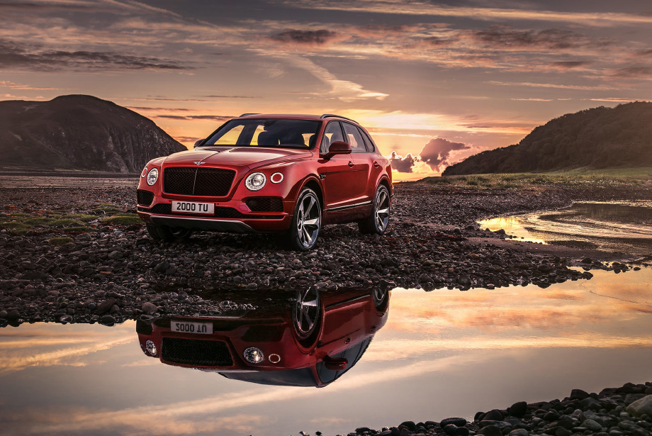 Karşınızda yeni Bentley Bentayga V8