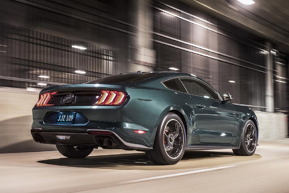 Ford'un efsanevi arabası geri döndü: 2019 Ford Mustang Bullitt