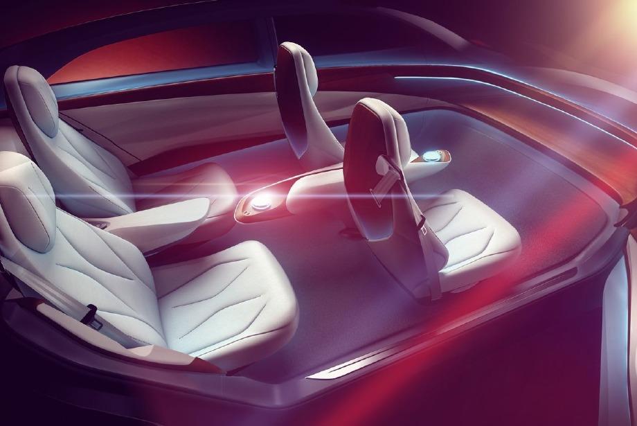 Volkswagen'in yeni harikası: I.D Vizzion