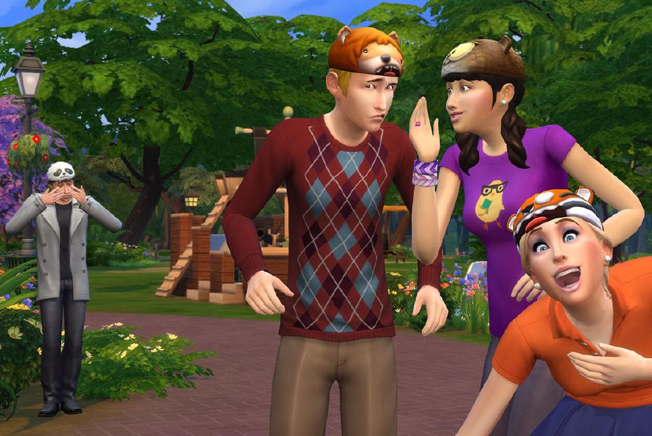 Sims cebe girdi