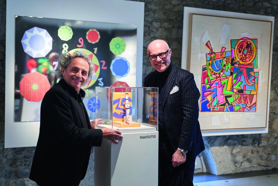 Yeni bir işbirliği: Swatch ve Ugo Nespolo