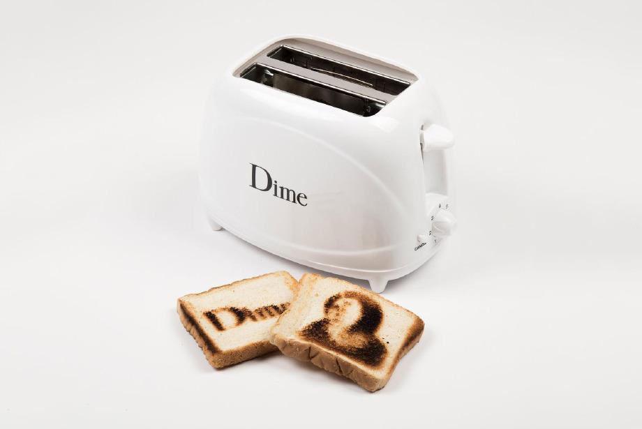 Dime'ın yeni tost makinesiyle tanışın
