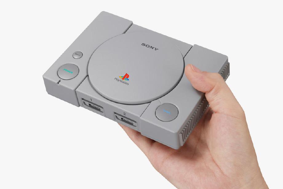 Sony Playstation 1 Minyatür Versiyonuyla Geri Dönüyor