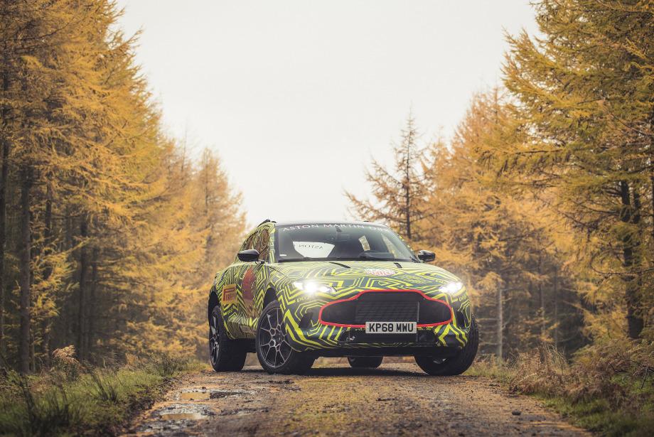 Aston Martin'in İlk SUV Modeli: DBX