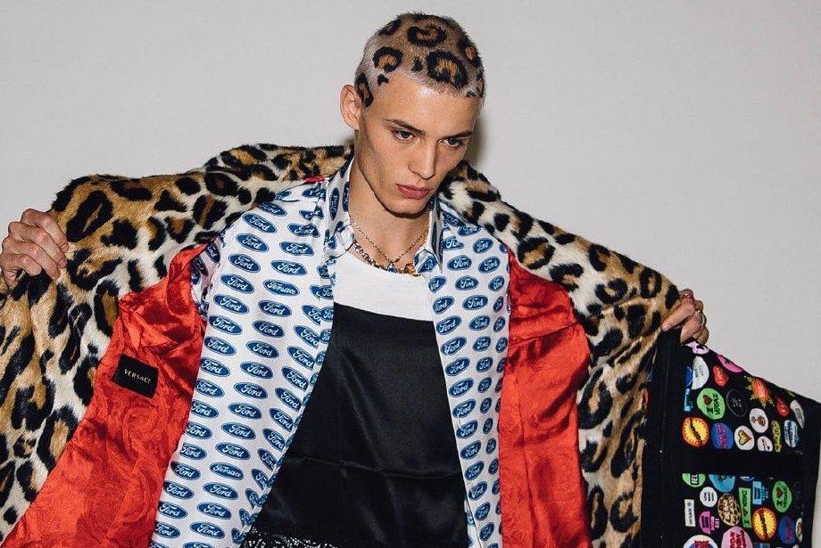 Versace Defilesinde Gördüğümüz Leopar Saç Trend Olur mu?