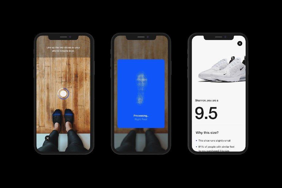 Nike'ın Yeni Uygulaması Ayak Numaranızı Ölçüyor