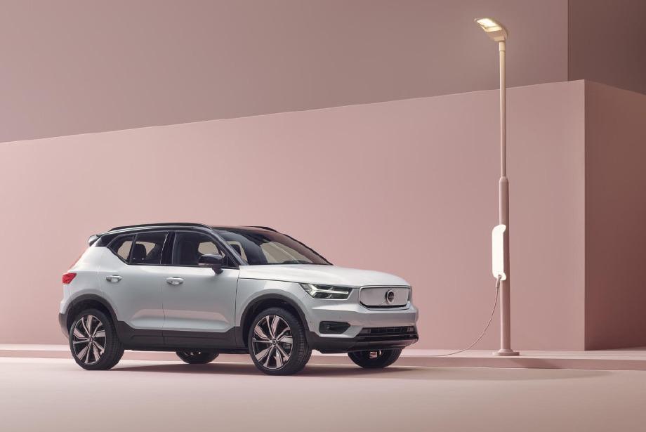 Volvo'nun Yeni Elektrikli Aracı: XC40 Recharge