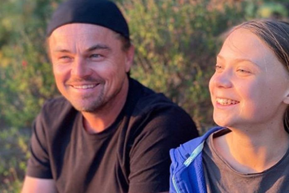 Leonardo DiCaprio ve Greta Thunberg Bir Araya Geldi!