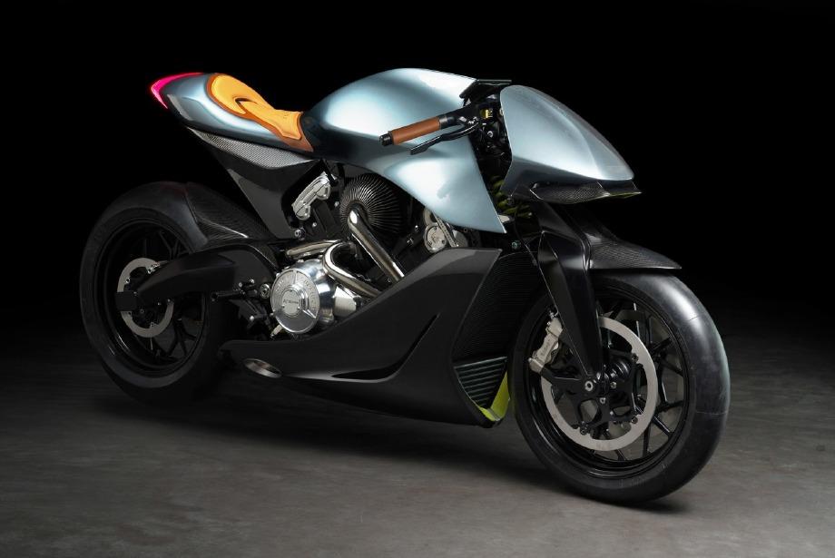 "Aston Martin'in İlk Motosikleti: ""AMB 001"""