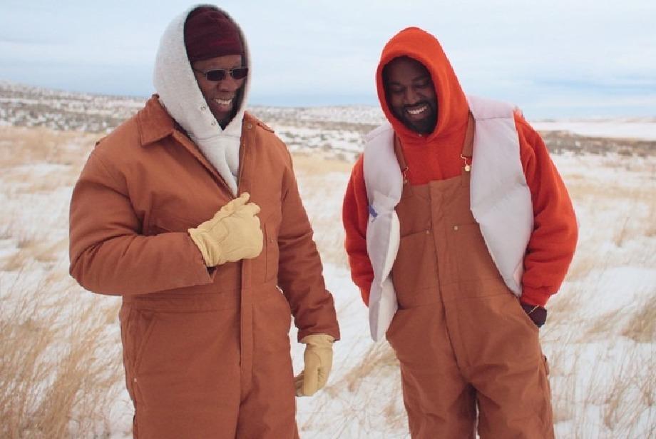 Kanye West ve Babası Wyoming Dağlarında...