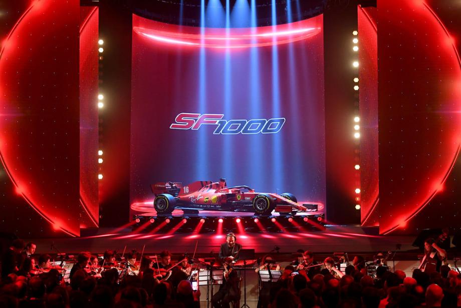 Ferrari'nin Yeni Yarış Otomobili: SF1000