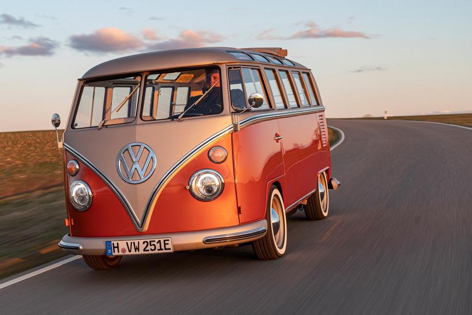 Volkswagen'ın Elektrikli Microbus'ü: T1 e-BULLI