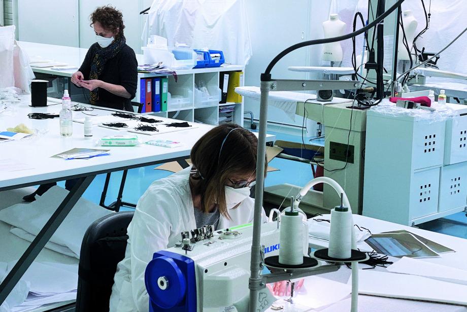 Dior Maske Üretimine Başladı
