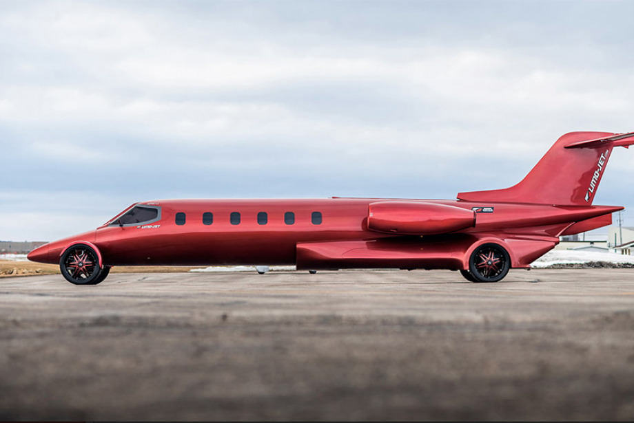 Trafiğe Çıkabilen Uçak: Exotic Coach Learjet
