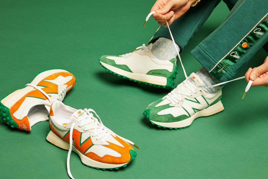 Yaz Stilinizin Yeni Sneaker'ı: Casablanca x New Balance 327 Idéaliste