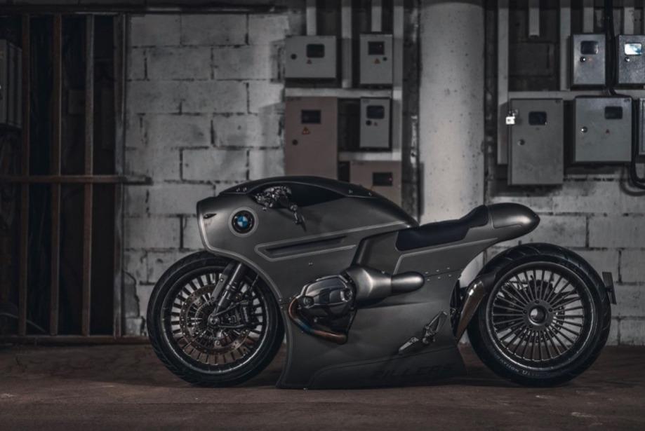 Zillers Garage ve BMW Motorcycles'ın Havacılıktan Esinlenilen Tasarımı