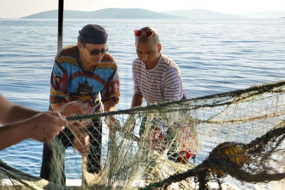 #GQDeneyim Bu Sabah Ayhan Sicimoğlu Bana Balık Ağı Atmayı Öğretti