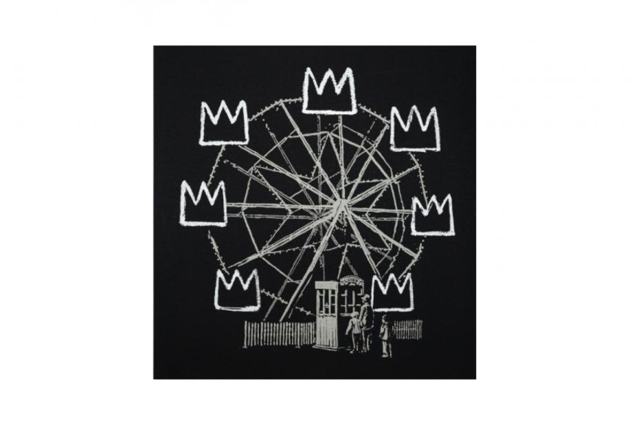 Banksy'nin Basquiat'ya Saygı Duruşu Açık Artırmada