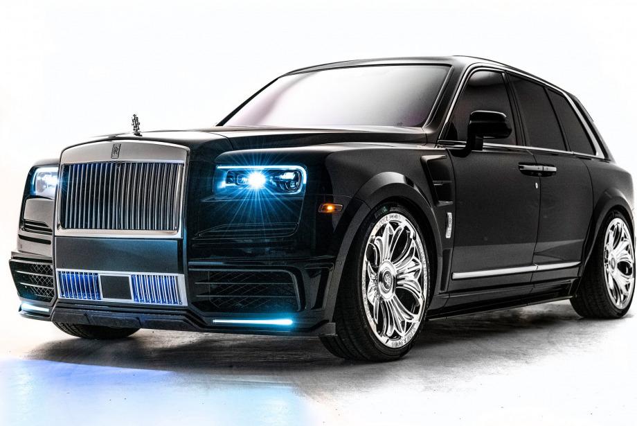 Drake'in Biricik Yeni Rolls Royce'u