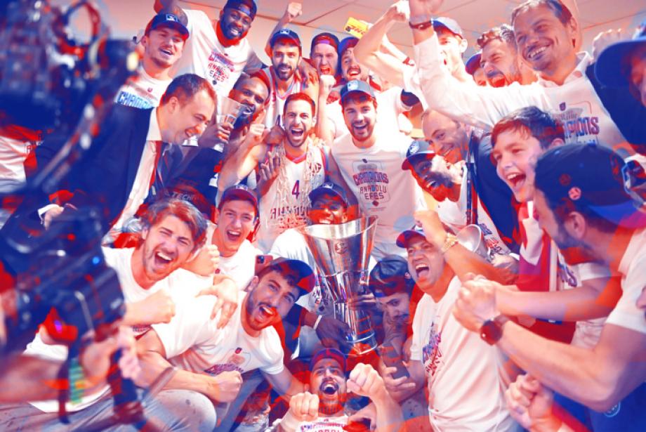 10 Maddede Anadolu Efes'in Euroleague ve Basketbol Süper Lig Şampiyonlukları