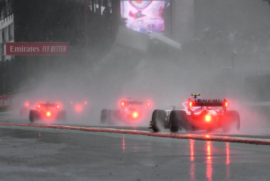 Belçika GP: Başlatılamayan Yarış