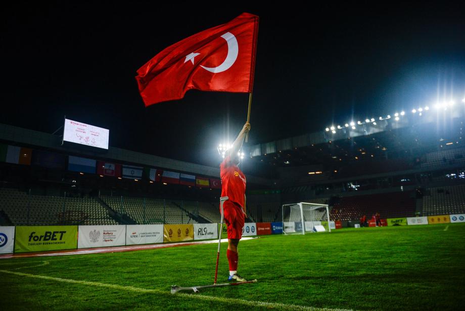Avrupa Şampiyonu Ampute Futbol Milli Takımımız