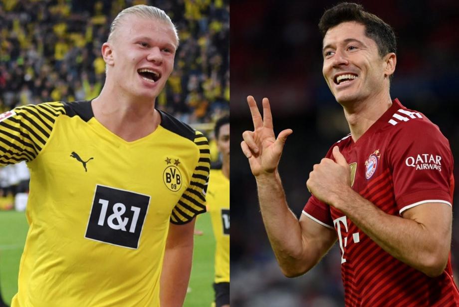 Bir Bundesliga Düellosu: Robert Lewandowski vs Erling Haaland