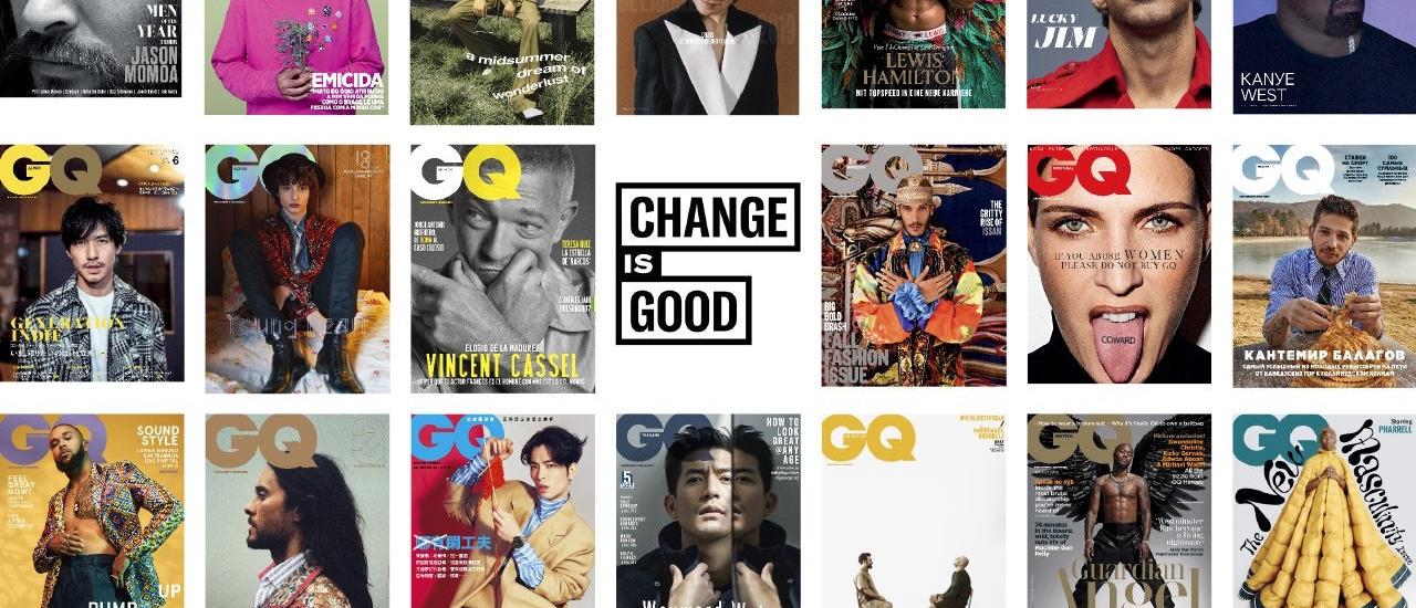 """GQ'nun 21 Global Yayınından Yeni Bir Manifesto: """"Değişim İyidir"""""""