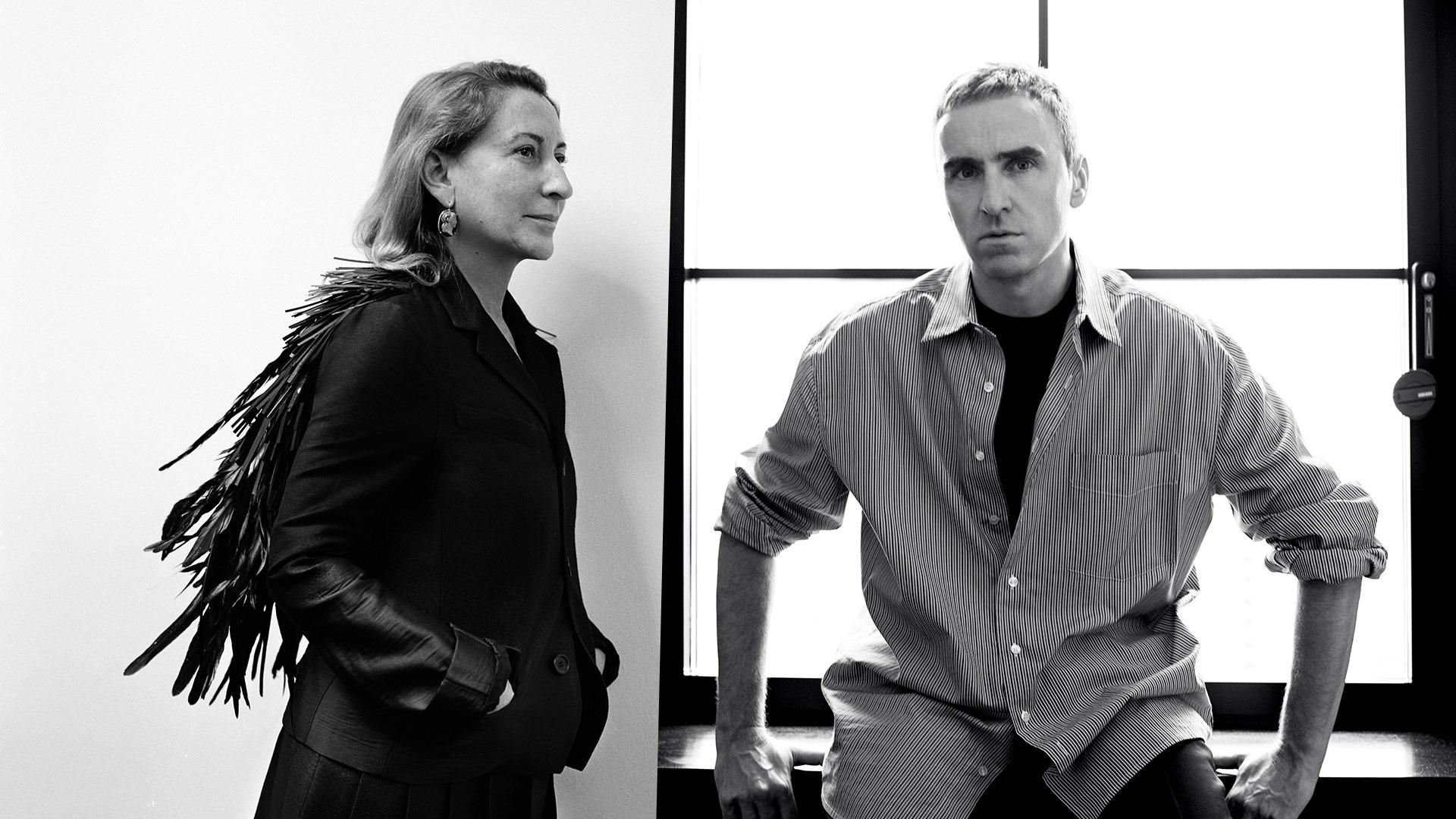 Raf Simons is the New Creative Director of Prada!