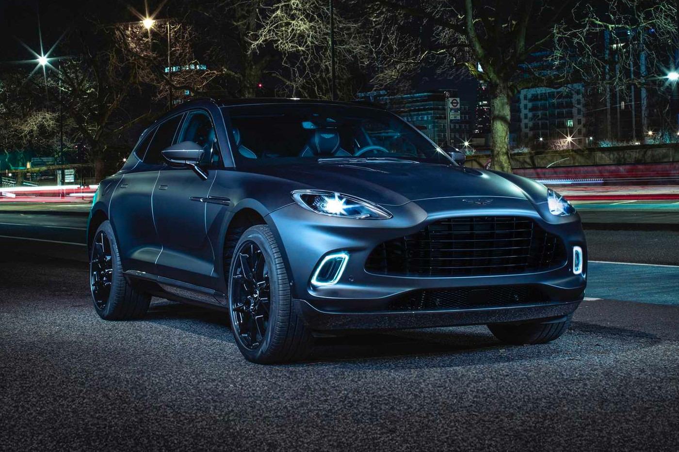 Aston Martin Develops DBX SUV Model!