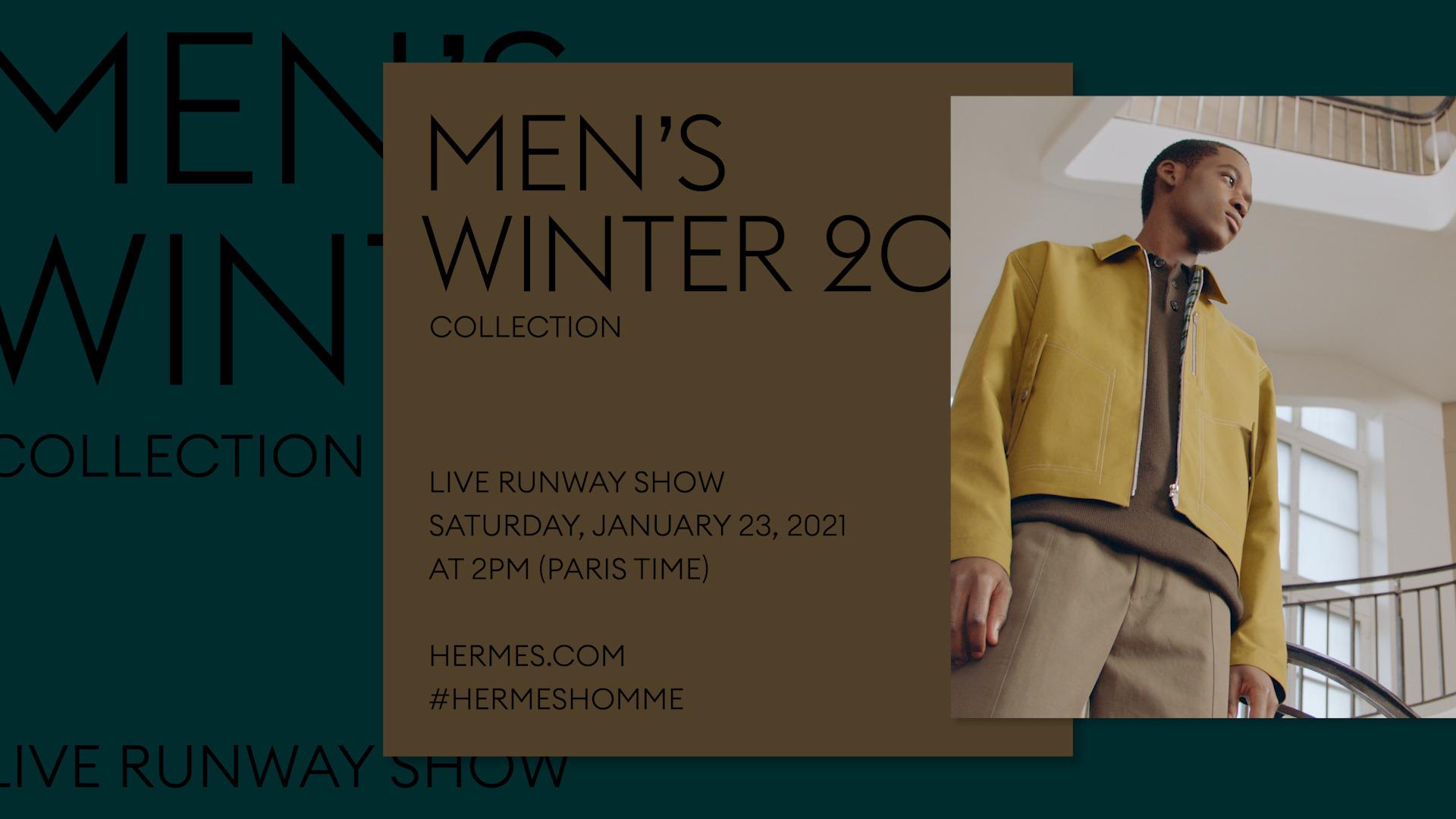 Canlı Yayın: Saat 16.00'da Hermés Erkek Sonbahar/Kış 2021 Defilesi