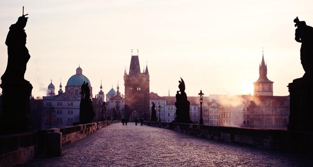 Dünyaya baktığım yerden Prag!