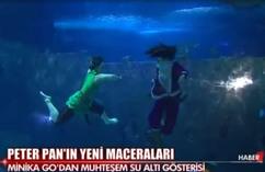 Peter Pan Su Altı Gösterisi - Turkuazoo