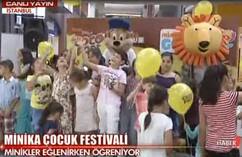 minikaFEST & CocoPops Sihirli Pipet Etkinliği aHaber Canlı Yayın (14-15 Eylül 2013)