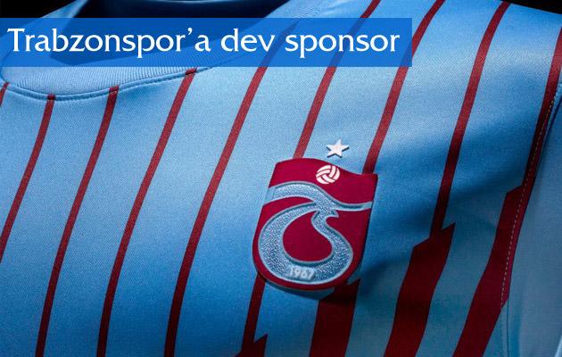Trabzonspor'a dev sponsor
