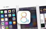 iOS 8.1 yayınlandı!