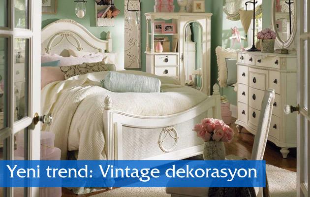 Yeni trend: Vintage dekorasyon