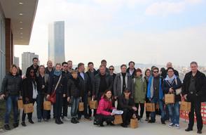 İsveç'li Sweco İstanbul Uluslararası Finans Merkezi'ni Ziyaret Etti