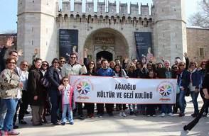 Ağaoğlu Kültür ve Gezi Kulübü Topkapı Sarayı'nda!